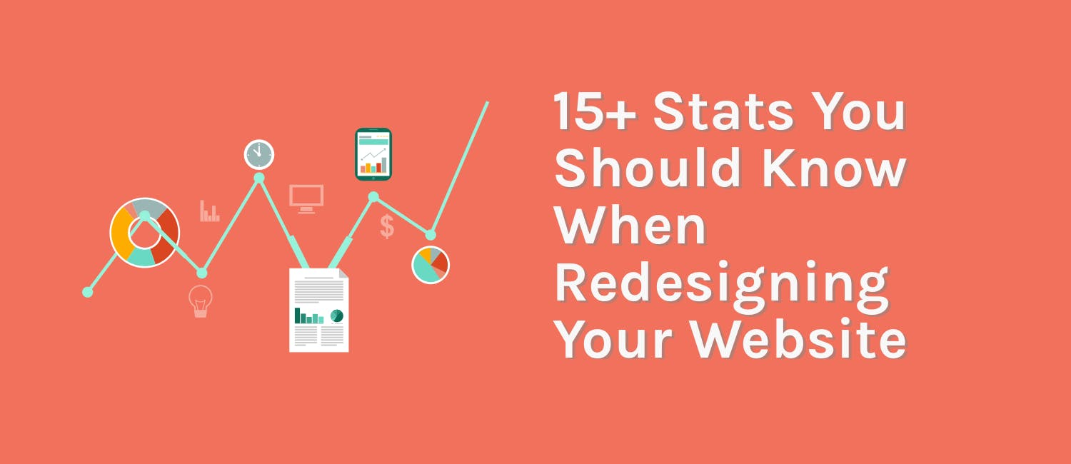 15+ Stats You Should Know When Redesigning Your Website