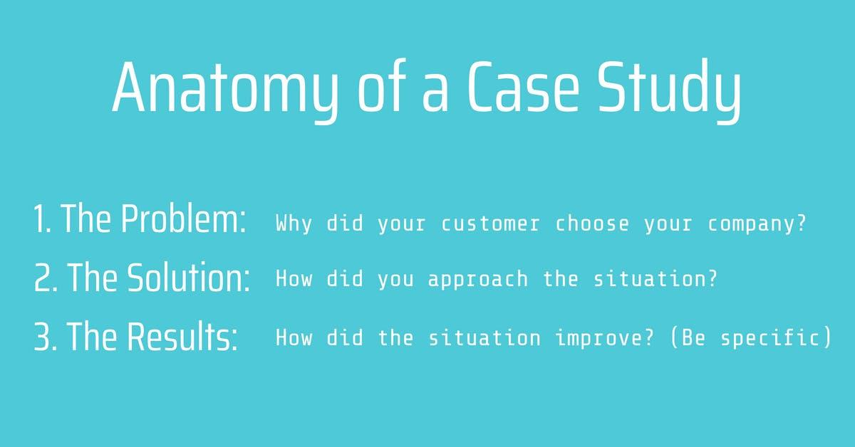 anatomy of a case study
