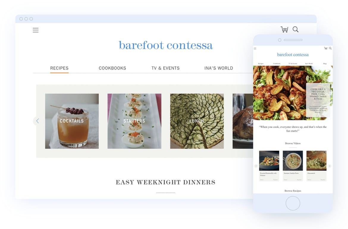 Barefoot Contessa on Craft CMS