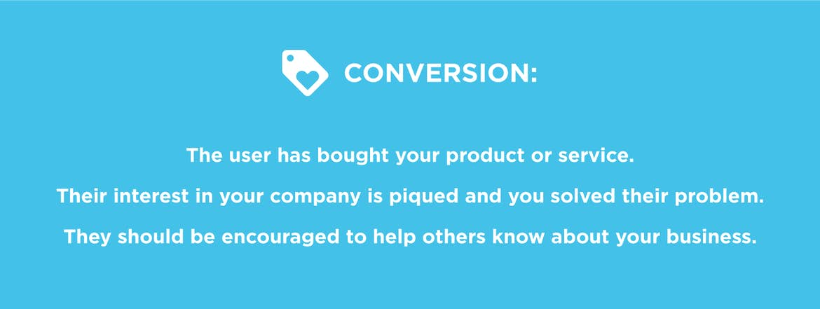Web design and the conversion stage: you need to delight users