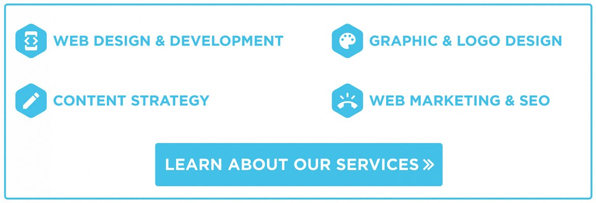 Trajectory offers web design & development, content strategy, SEO & online marketing, and graphic/logo design services