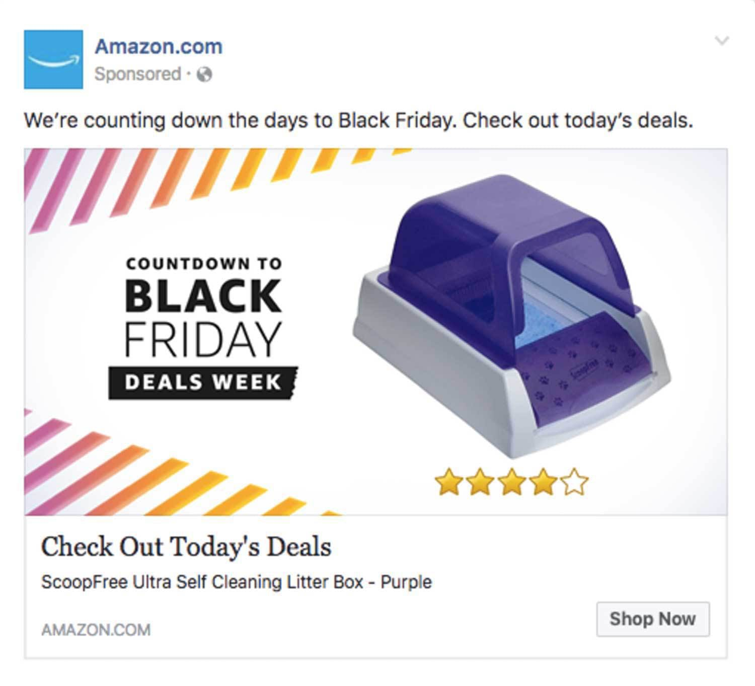 Facebook ads cost less than PPC and offer more targeting options