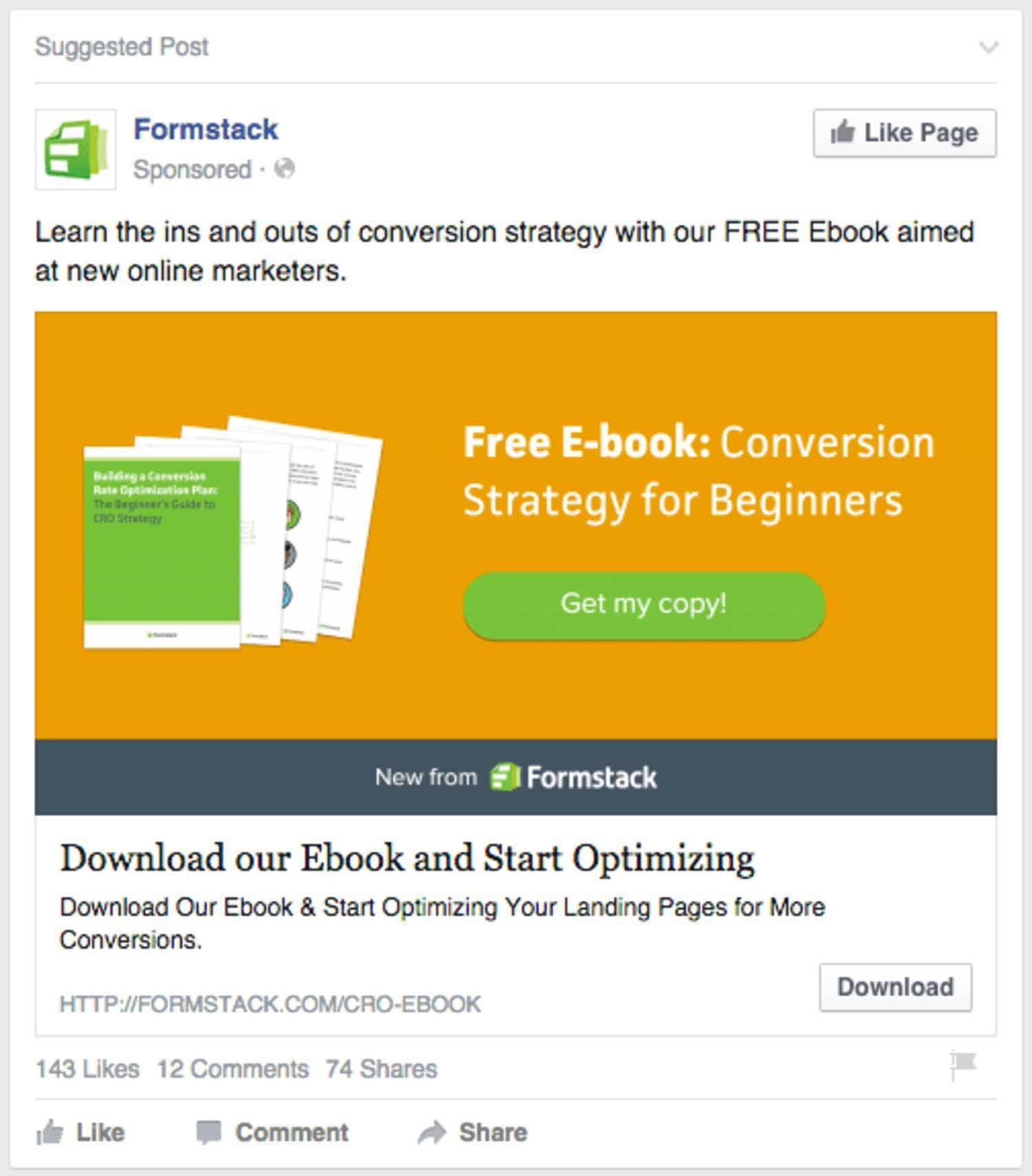 Use Facebook to cross-promote your content