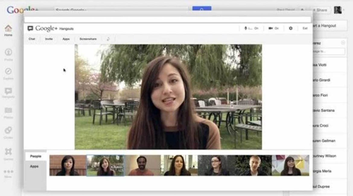 Hangouts is the perfect place to host your first webinar