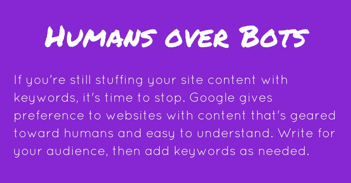 keep your website relevant