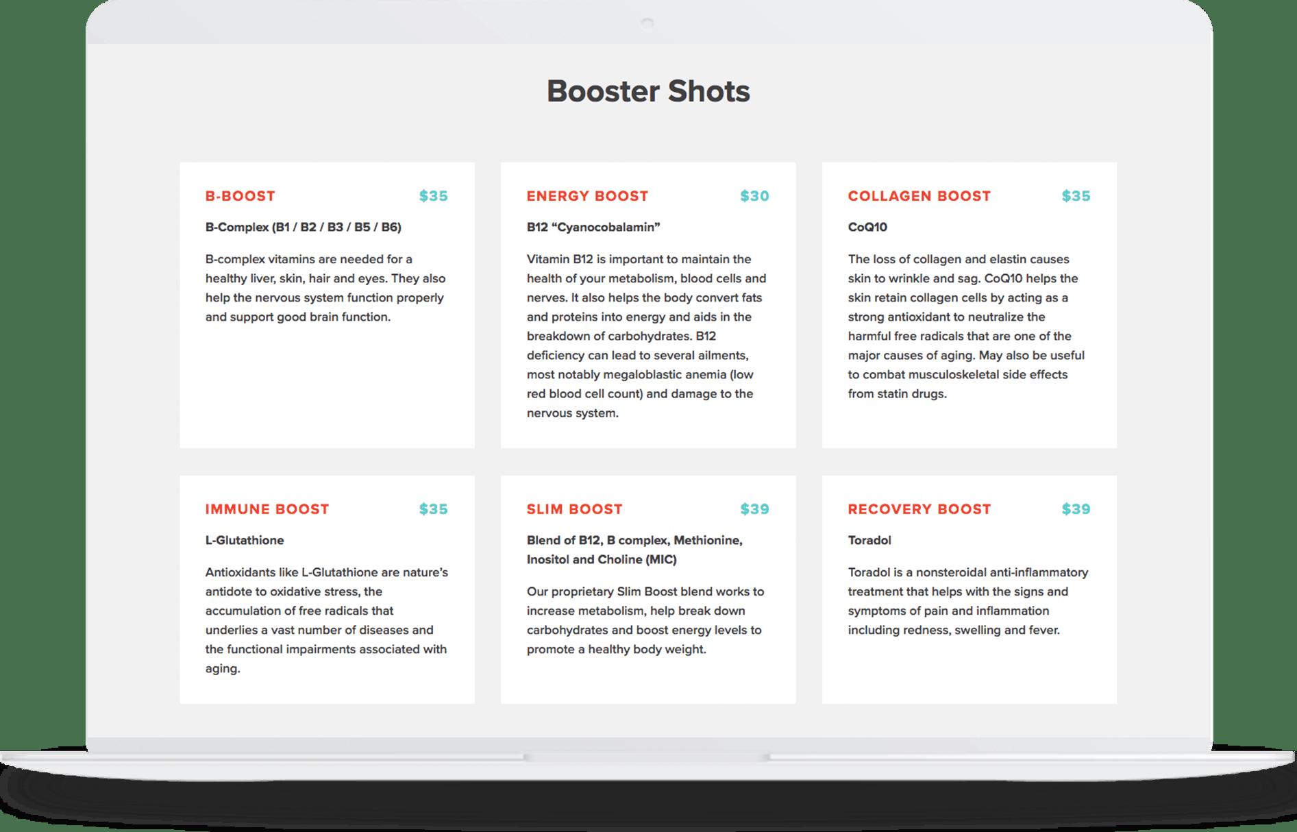 Fast loading website