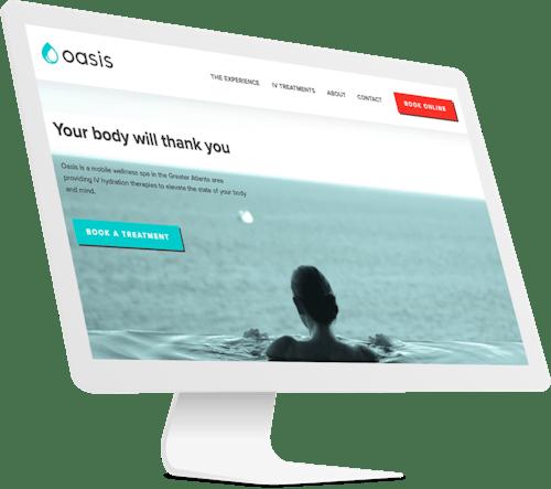 Website brand development