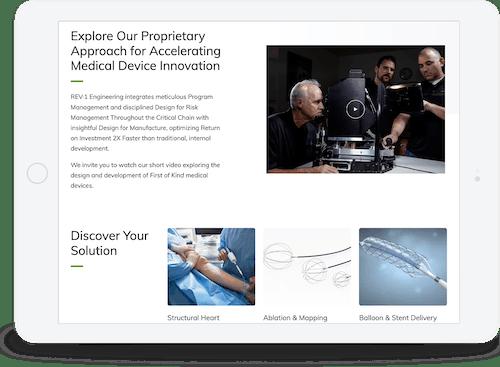 iPad responsive design
