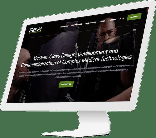 Engineering website design