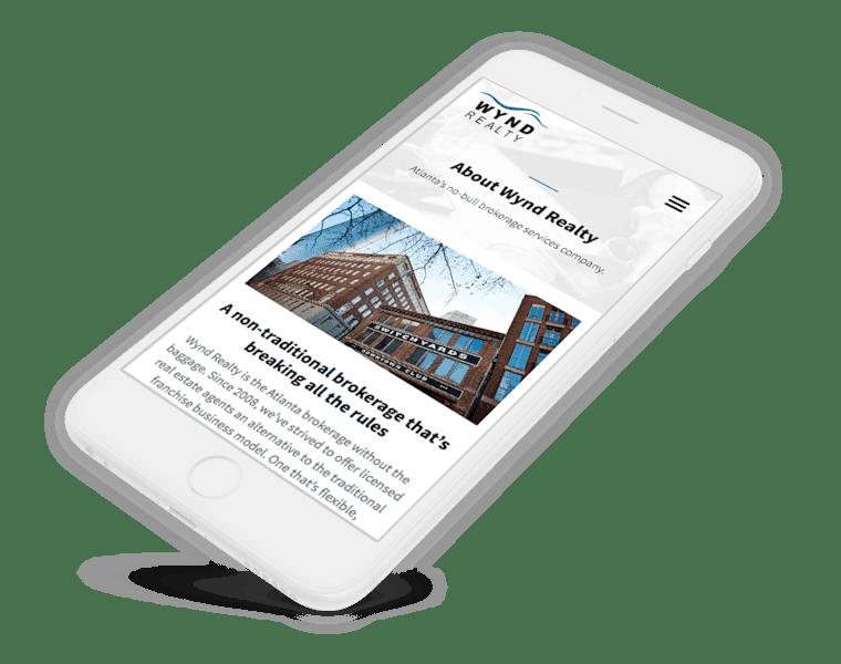 Real estate website development.