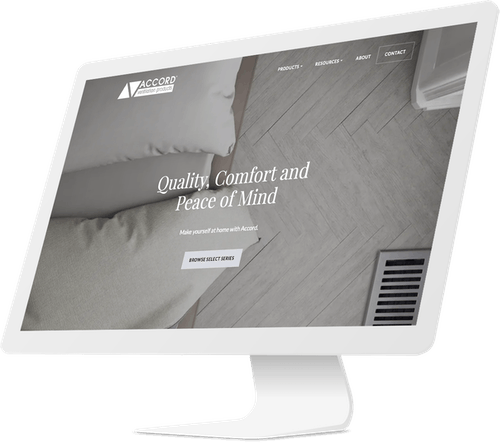 Industrial manufacturer website