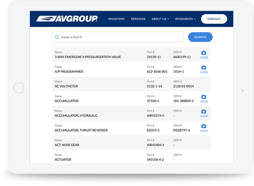 Avgroup product search feature