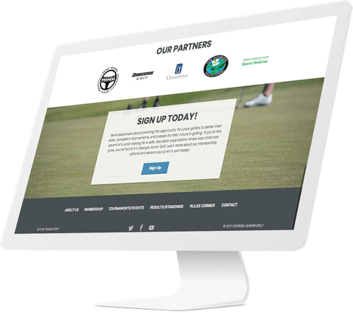 Responsive Website and Improved Search Engine Rankings for Golf Organization