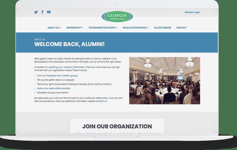 A user-friendly, responsive website.