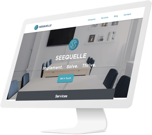 Modern Website Redesign for Professional Technology Consultants