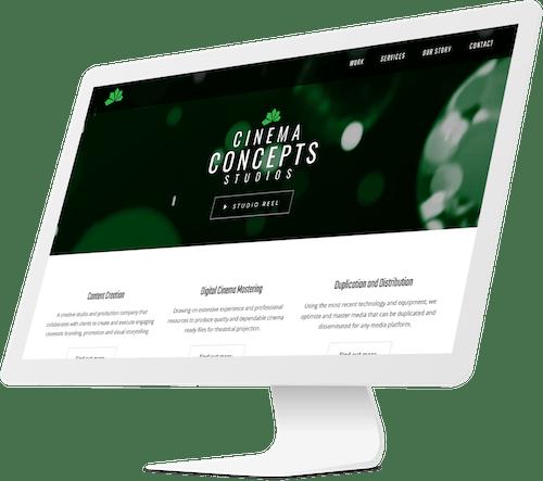 Cinema Concepts Website