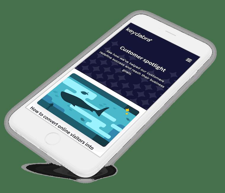 Keydabra website design