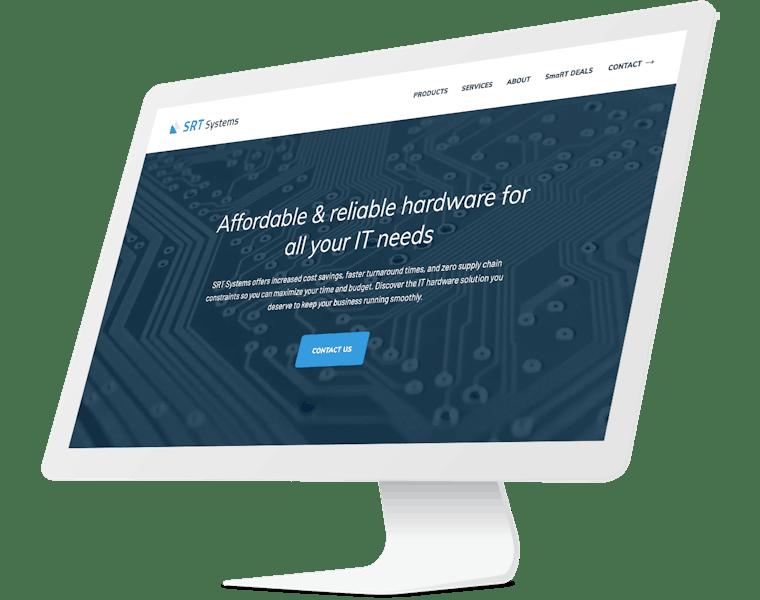 SRT Website design