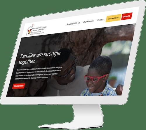 RMHC website design