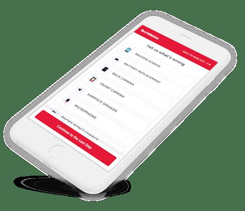 iphone repair website design