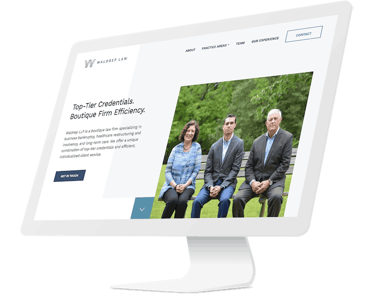 Waldrep Law website