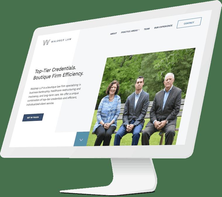 Waldrep Law website